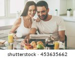 good morning starts with good... | Shutterstock . vector #453635662