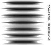monochrome lines pattern ... | Shutterstock .eps vector #453639922