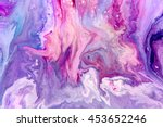 abstract purple paint... | Shutterstock . vector #453652246