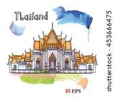 bangkok. thailand   Shutterstock .eps vector #453666475