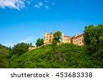 hohenschwangau castle or... | Shutterstock . vector #453683338