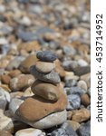 pile of pebbles | Shutterstock . vector #453714952