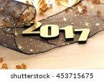 happy new year 2017   Shutterstock . vector #453715675