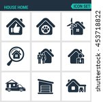 set of modern vector icons....   Shutterstock .eps vector #453718822