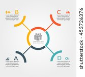 infographic design template... | Shutterstock .eps vector #453726376