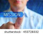 mission title frame.... | Shutterstock . vector #453728332