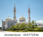 beautiful mosque in the city of ... | Shutterstock . vector #453772936