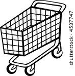 shopping cart | Shutterstock .eps vector #4537747