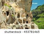 vardzia cave monastery in... | Shutterstock . vector #453781465