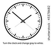Vector Clock Face   Easy Chang...
