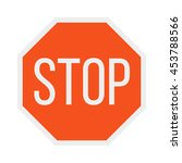prohibition stop sign vector