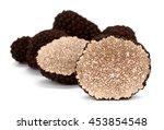 truffle tuber melanosporum... | Shutterstock . vector #453854548