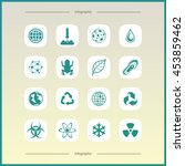 high quality  icon  set.... | Shutterstock .eps vector #453859462