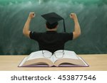 education concept blurred... | Shutterstock . vector #453877546