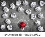 in search of great idea | Shutterstock . vector #453892912