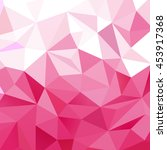 pink triangular background with ... | Shutterstock .eps vector #453917368