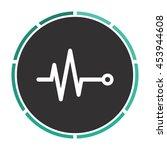 life line   heart beat ...   Shutterstock . vector #453944608