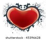 valentine heart | Shutterstock .eps vector #45396628