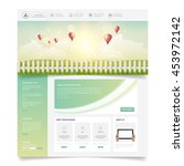 website template design for...