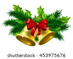 christmas tree decoration... | Shutterstock . vector #453975676