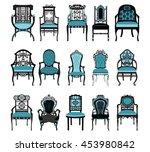 Vintage Chair Furniture Set...