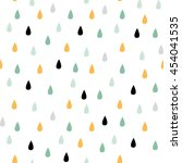 seamless vector pattern with... | Shutterstock .eps vector #454041535