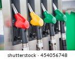 colored fuel nozzle in unknown... | Shutterstock . vector #454056748