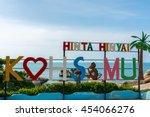 hin ta and hin yai rocks  ...   Shutterstock . vector #454066276