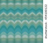 wavy stripes vector abstract... | Shutterstock .eps vector #454100122