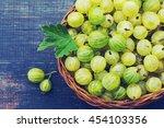 Juicy Ripe Berries Of A...