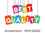 vector colorful hanging... | Shutterstock .eps vector #454118362