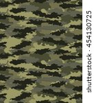 fashionable camouflage pattern  ... | Shutterstock .eps vector #454130725