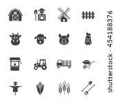 farming icon   Shutterstock .eps vector #454188376