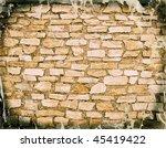 grunge wall | Shutterstock . vector #45419422