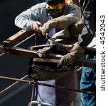 welding construction workers | Shutterstock . vector #4542043