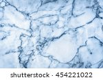 blue marble patterned texture... | Shutterstock . vector #454221022