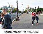 paris  france   may 5  2016 ...   Shutterstock . vector #454260652