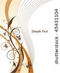 floral design | Shutterstock .eps vector #45431104