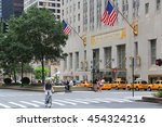 new york  usa   july 4  2013 ... | Shutterstock . vector #454324216