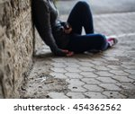 substance abuse  addiction ... | Shutterstock . vector #454362562