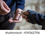 drug trafficking  crime ... | Shutterstock . vector #454362706