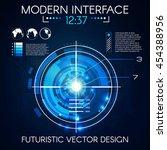 virtual futuristic user...