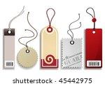 price labels set | Shutterstock .eps vector #45442975