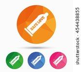 condom safe sex sign icon....   Shutterstock .eps vector #454438855