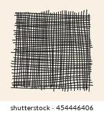 asymmetrical design element. | Shutterstock .eps vector #454446406