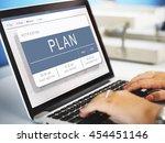 agenda appointment plan program ... | Shutterstock . vector #454451146