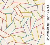 vector seamless abstract linear ... | Shutterstock .eps vector #454461766