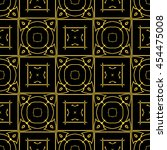 abstract seamless pattern of... | Shutterstock .eps vector #454475008