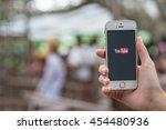 chiang mai thailand   july 16 ... | Shutterstock . vector #454480936
