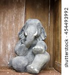 Elephant Made With Clay With...